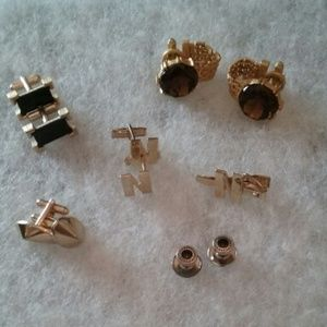 Cuff Links/tie bar and studs
